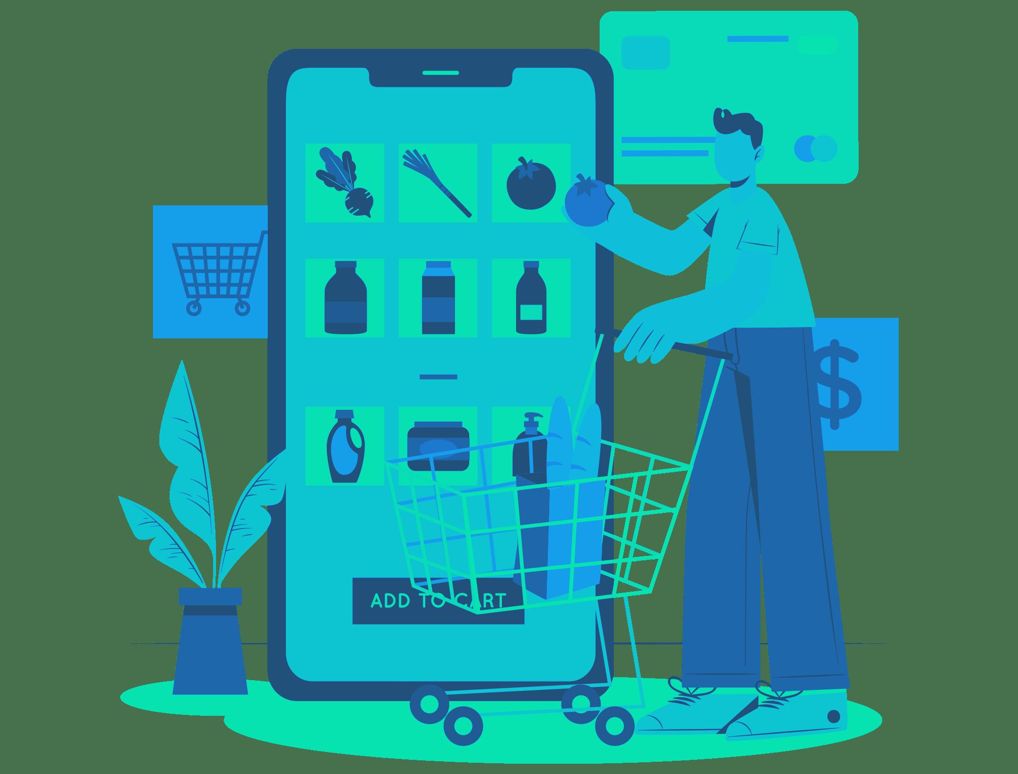 Grocery app development ideas